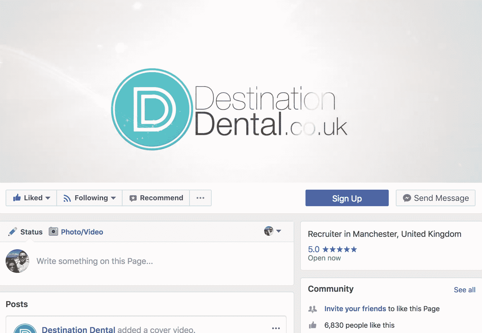 Have you considered using Facebook as part of your Dental Recruitment Strategy?